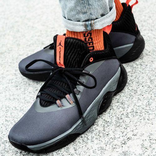 Buty sportowe męskie Nike Jordan Super.Fly Mvp Low (AO6223-001), kolor szary