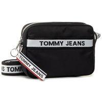 Torebka TOMMY JEANS - Tjw Logo Tape Crossover Nyl AW0AW08255 0GJ