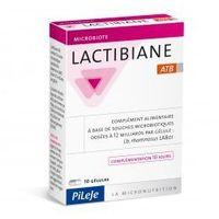 Kapsułki Lactibiane ATB (wspomaganie przy antybiotykoterapii) 10 kapsułek