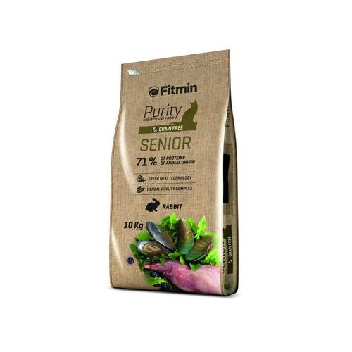 Fitmin cat purity senior 10kg - 8595237013500 (8595237013500)