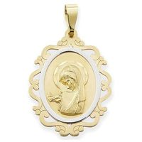 Węc-twój jubiler Medalik z wizerunkiem matki bożej - 41376