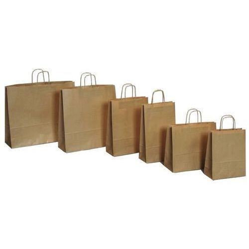 Papierowa torebka Lanex P3/10szt. duża szara