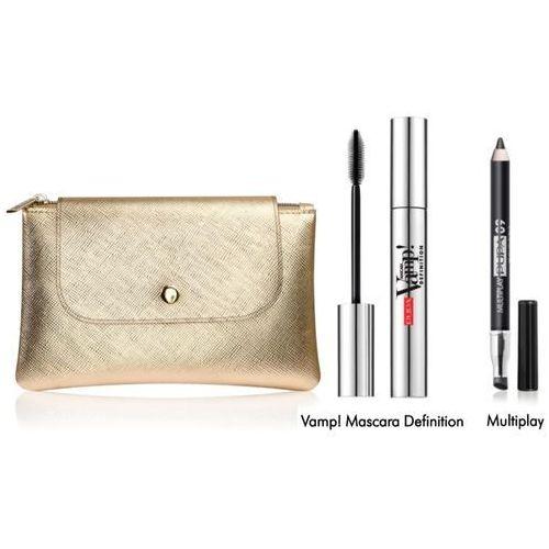 Pupa vamp! mascara definition | zestaw do makijażu: tusz do rzęs 9ml + kredka do oczu + torebka - Najtaniej w sieci