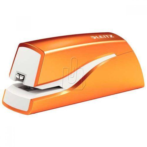 Zszywacz elektryczny Leitz WOW pomarańczowy 5566
