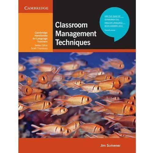 Classroom Management Techniques Cambridge Handbooks For Language Teachers, Jim Scrivener