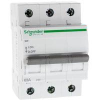 Rozłącznik izolacyjny modułowy sw 3p 63a 415vac a9s62363  marki Schneider electric