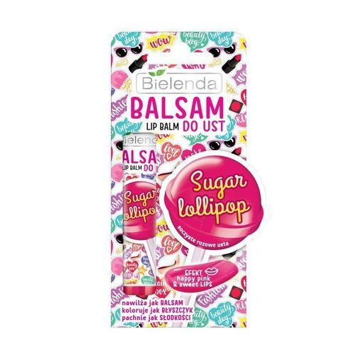Bielenda Lip Balm Balsam Do Ust Sugar Lollipop Słodki Lizak - Bielenda OD 24,99zł DARMOWA DOSTAWA KIOSK RUCHU