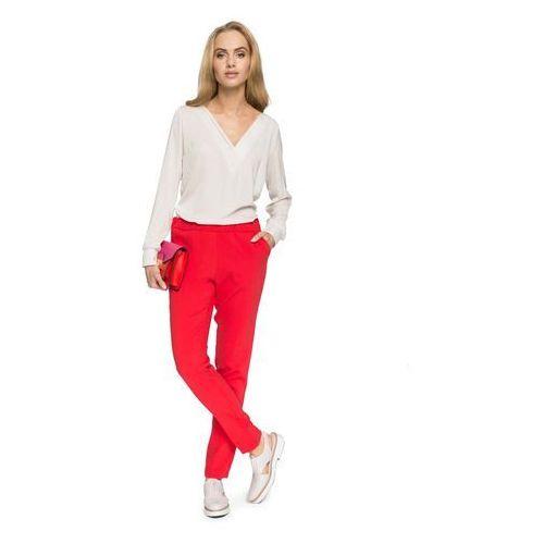 d50501d336cb Czerwone Klasyczne Spodnie w Kant na Gumie (MOE) opinie + recenzje ...