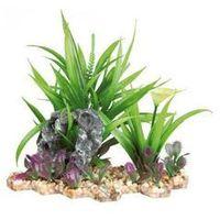 plastic plant in gravel bed. 18 cm - darmowa dostawa od 95 zł! marki Trixie
