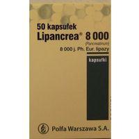Lipancrea 8000 kaps. 8 000 j. Ph.Eur. 50 kaps. (5909990841370)