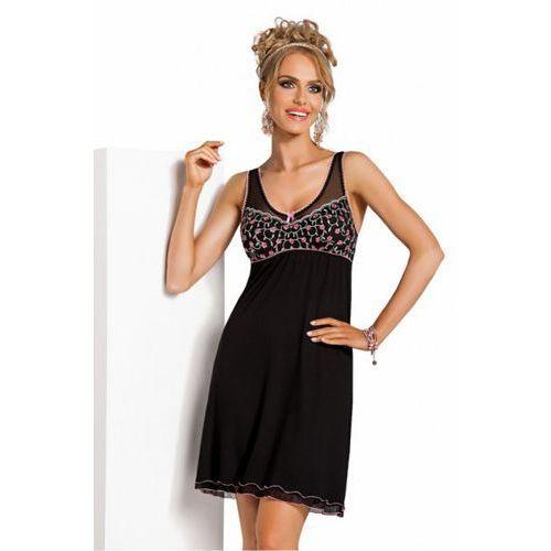 949295c2e08a15 Koszula nocna model alina black (donna) - sklep SkladBlawatny.pl