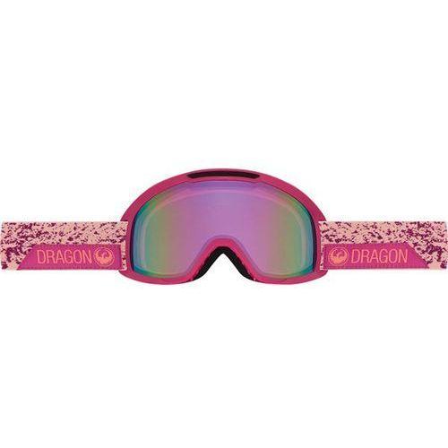 Gogle snowboardowe - dx2 - stone pink/pink ion + amber (830) rozmiar: os Dragon