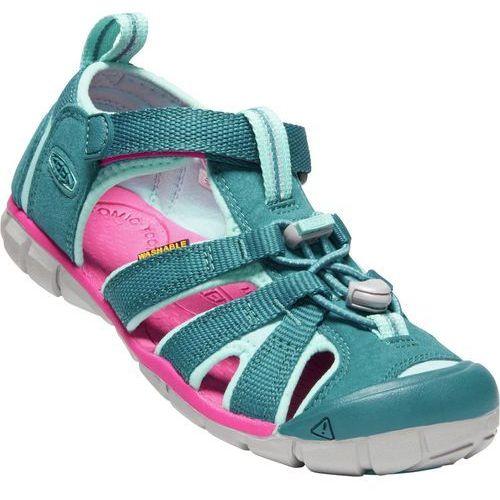 71d93b78 Zobacz ofertę KEEN sandały dziecięce Seacamp II Cnx Y-Deep Lagoon/Bright  Pink US 1 (