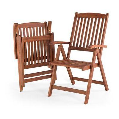 Krzesła ogrodowe Beliani