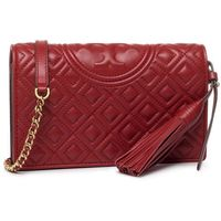 Torebka TORY BURCH - Fleming Wallet 50263 Red Apple 611