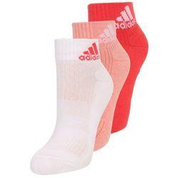 adidas Performance 3 PACK Skarpety sportowe still breathe/white/coral pink