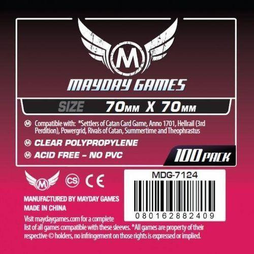 Mayday games Koszulki square small 70x70 (100szt) mayday (0080162882409)
