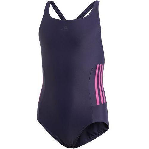 21ca8a0c7ee1c Strój do pływania adidas essence core 3 stripes youth BS0352, kolor  niebieski - 1