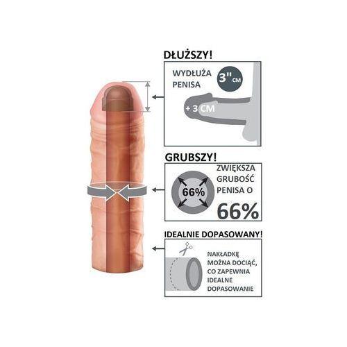 Najlepsza na rynku przedłużka - nakładka na penisa