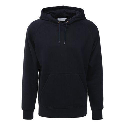 Carhartt WIP CHASE Bluza z kapturem dark navy z