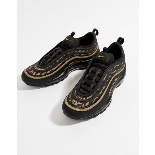 Nike Air Max 97 AOP Trainers In Black AQ4132 - Black