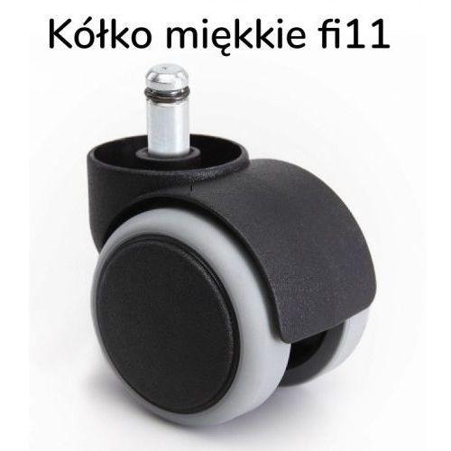 Kółka miękkie fi 11 mm krzeseł biurowych 50 szt paleta