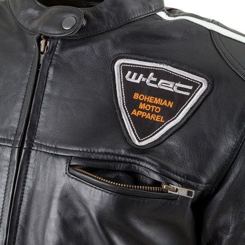 bf8d9dfe06f1c Damska skórzana kurtka motocyklowa W-TEC Sheawen Lady