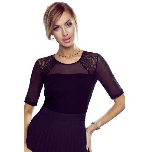 Lora bluzka damska Eldar Romantica Top Czarna - Czarny, kolor czarny