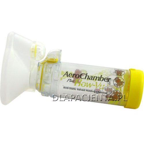 Glaxosmithkline Aerochamber plus flow-vu z maseczką dla dzieci - inhalator