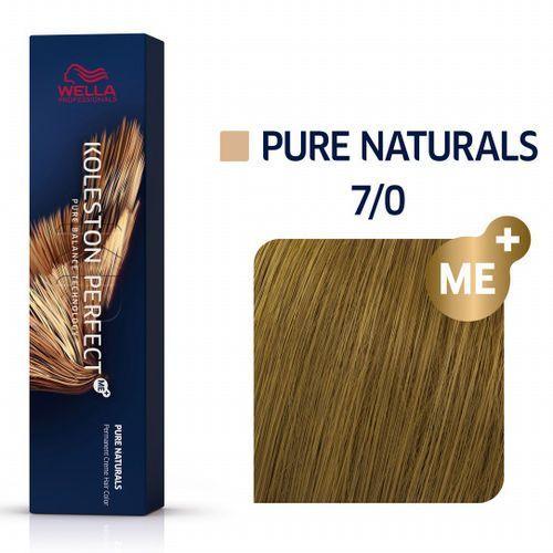 Wella Koleston Perfect ME+   Trwała farba do włosów 7/0 60ml