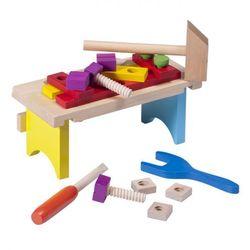 Eichhorn drewniany stolik z narzędziami