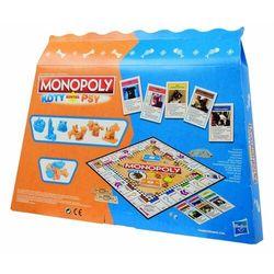 Hasbro Gra monopoly koty kontra psy
