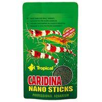 Tropical caridina nano sticks - podstawowy pokarm dla krewetek karłowatych 10g