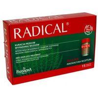 Farmona Radical Kuracja przeciw wypadaniu włosów /Kompleks odżywczy w ampułkach stymulujący wzrost włosów (5900117017005)
