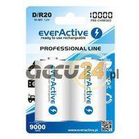 Everactive 2x akumulatorki r20/d ni-mh 10000 mah ready to use (5902020523406)