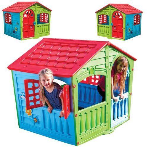 Marian Plast Domek zabaw Happy House (7290100907801)
