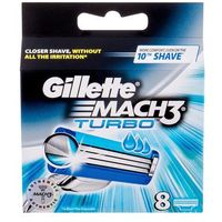 Gillette Mach3 Turbo wkład do maszynki 8 szt dla mężczyzn