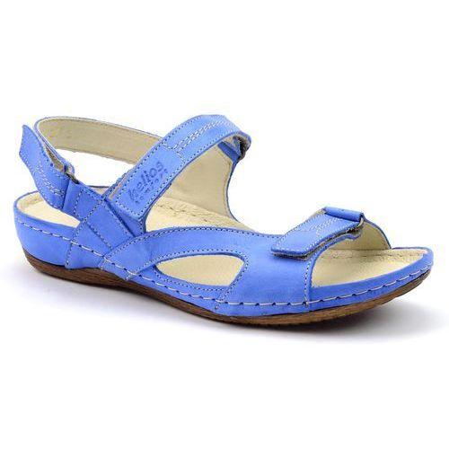9a07120254b51 Sandały 221 niebieski marki Helios - foto Sandały 221 niebieski marki Helios