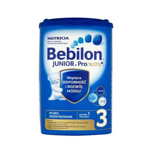 Bebilon 800g junior 3 z pronutra mleko modyfikowane po 12 miesiącu
