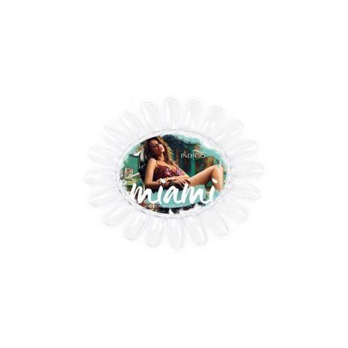 wzornik owal przezroczysty miami collection don`t worry beach happy marki Indigo