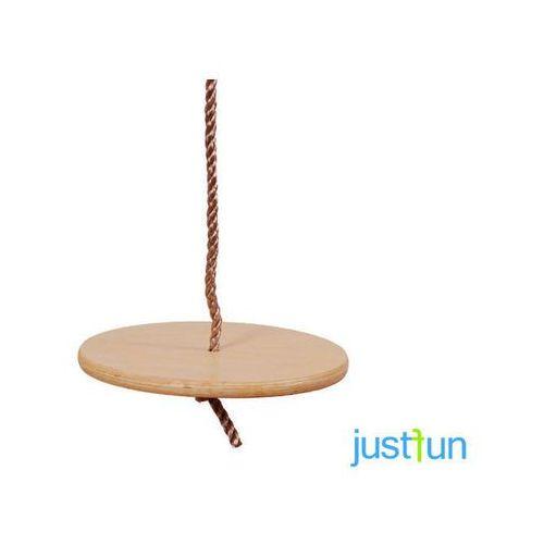 Huśtawka okrągła drewniana marki Just fun