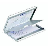 Wizytownik Durable Business Card Box Duo 20 srebrny 2433-23