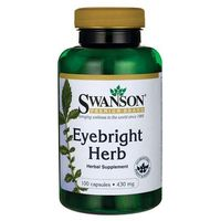 Kapsułki Swanson Eyebright Świetlik lekarski 430mg 100 kaps.