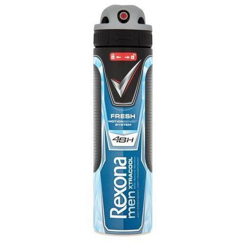 Dezodorant rexona men xtracool antyperspirant w aerozolu 150 ml marki Unilever