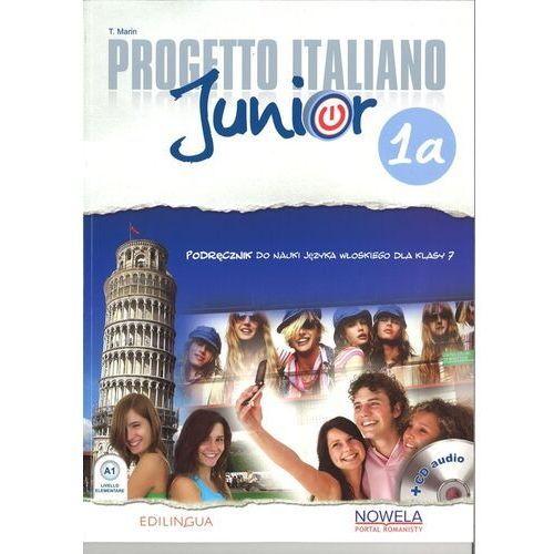 Progetto Italiano Junior 1A 7 Podęcznik + CD - Marin T. (72 str.)