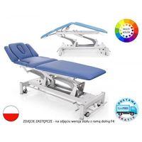 Stół rehabilitacyjny Terapeuta M-P7.F0 z elektryczną regulacją wysokości z ramy oraz pozycją Pivota i funkcją fotela