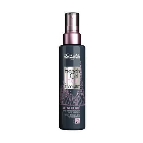 Loreal french girl messy cliche spray efekt potarganych włosów 150ml marki L`oreal