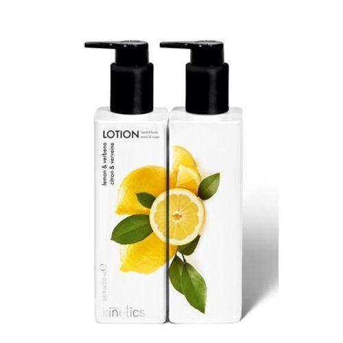 Kinetics hand & body lotion lemon & verbena odżywczy balsam do rąk i ciała (cytryna i werbena) - Bardzo popularne