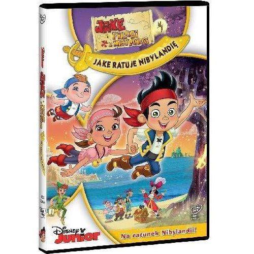 Jake i piraci z Nibylandii: Jake ratuje Nibylandię (DVD) - Joanna Węgrzynowska-Cybińska (7321916503953)