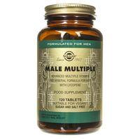 Tabletki Solgar Male Multiple dla mężczyzn - 120 tabletek